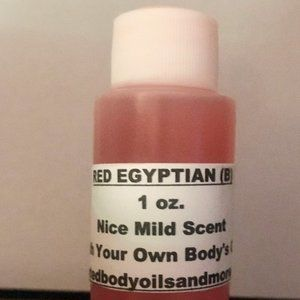 1 oz Scented Body Musk Oils